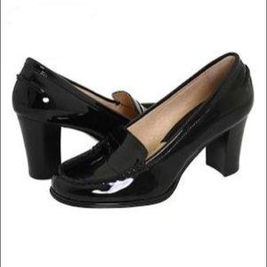 MICHAEL MK Bayville Black Patent Leather Loafer